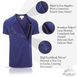 christmas gifts for dads-Original Bondaroo Skin to Skin Kangaroo Care Bonding T-Shirt (1)