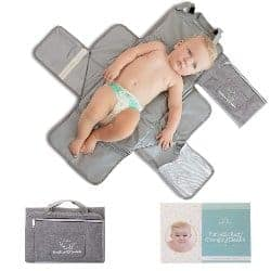 cool gifts for dad-Portable Changing Pad for Baby (1)