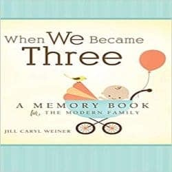 cool gifts for dad-When We Became Three (1)