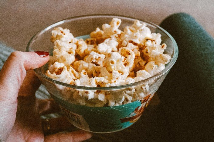 fun things to do with friends - Pop your own popcorn and choose your own flavor