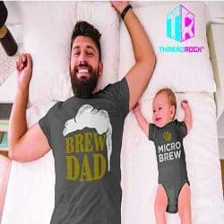 gifts for dad- tshirt matching
