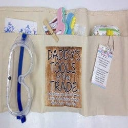 gifts for dad- trade diaper changing tool belt
