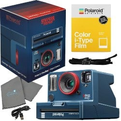 gifts for dad who has everything-Polaroid Stranger Things OneStep 2 Viewfinder i-Type Camera 9017 Bundle (1)