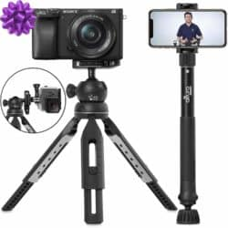 gifts for new dads - 6 in 1 Monopod Tripod Kit by Altura Photo