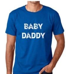 gifts for new dads - CBTWear Baby Daddy