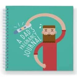 gifts for new dads - Dad to Be Pregnancy Journal