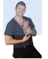 gifts for new dads - DadWare Original Bondaroo Skin to Skin Kangaroo Care Bonding T-Shirt