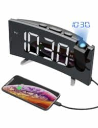gifts for new dads - Projection Alarm Clock