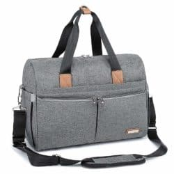 gifts for new dads - RUVALINO Large Travel Diaper Tote