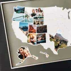 gifts for new dads - USA Photo Map