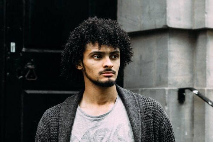 mens medium haircut-26 long afro