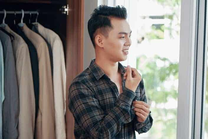 Men's Medium Hairstyle -38