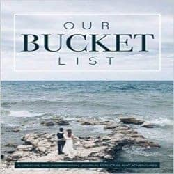 One Year Anniversary Gifts - 10. Our Bucket List: A Creative and Inspirational Journal for Ideas and Adventures for Couples