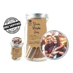 One Year Anniversary Gifts - 21. Orig Date Night Jar