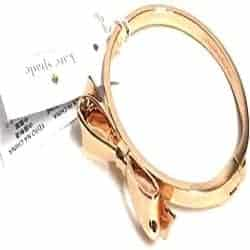 One Year Anniversary Gifts - 28. Kate Spade New York Love Notes Bangle Hinged Bracelet