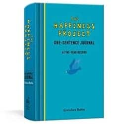 One Year Anniversary Gifts - 31. The Happiness Project One-Sentence Journal: A Five-Year Record