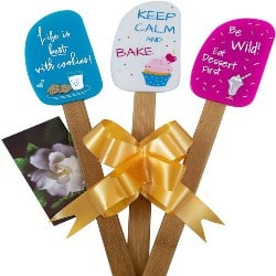 One Year Anniversary Gifts - 48. 3 Piece Fun Silicone Spatula Gift Set