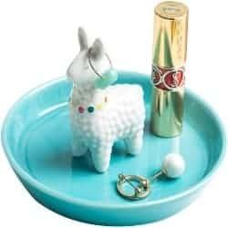 One Year Anniversary Gifts - 49. Ceramic Ring Jewelry Holder