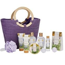 One Year Anniversary Gifts - 51. Lavender Spa Gift Baskets for Women