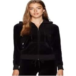 One Year Anniversary Gifts - 53. Juicy Couture Black Label Women's Velour Robertson Jacket