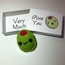 61. Mini olive magnet gift