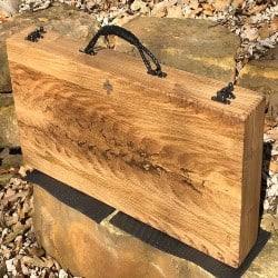 65. Custom Wood Gun Case