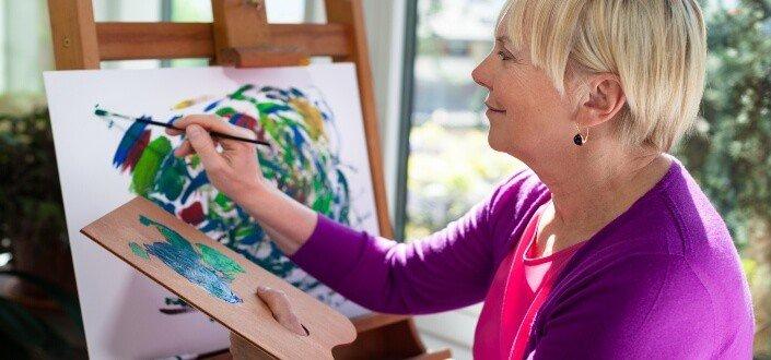 Hobbies for women-creative