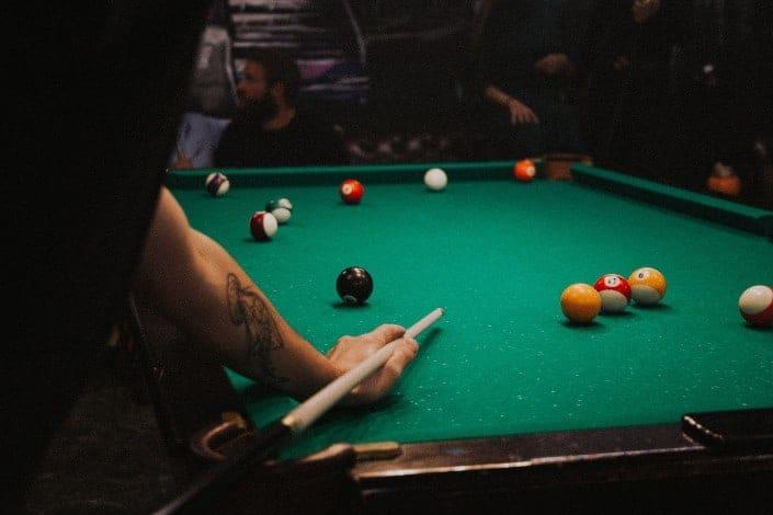 cool hobbies - Billiards