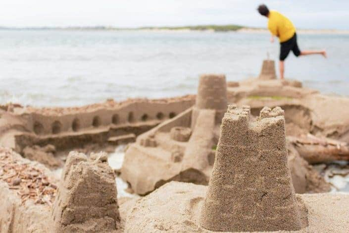 cool hobbies - Sandcastle Buildin