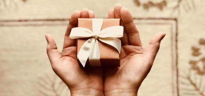 Small gift gently handled.