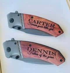 birthday gifts ideas - Custom Pocket Knife