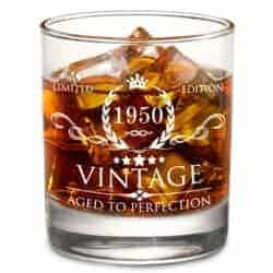 birthday gifts ideas - Lowball Whiskey Glass
