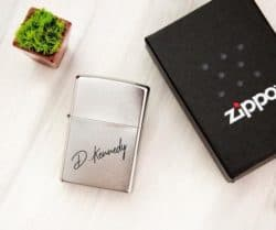birthday gifts ideas - Personalized ZIPPO Lighter