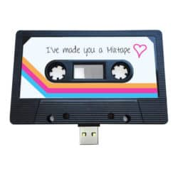 birthday gifts ideas - USB Mixtape - Retro