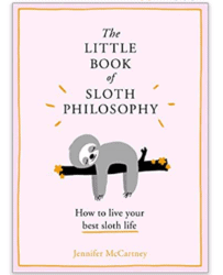 birthday gifts ideas - the little book of sloth