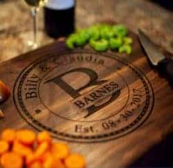 christmas gifts for brother - Personalized Cutting Board