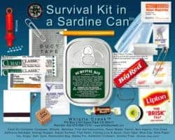 christmas gifts for brother - Survival Kit In A Sardine Can