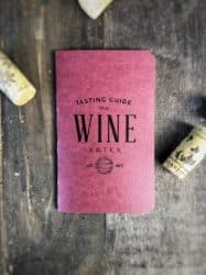 gifts for wine lover - Tasting journals