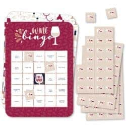 gifts for wine lover - Wine Bingo