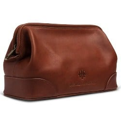 Best Retirement Gift Ideas for Men - Executive Leather Toiletry Bag