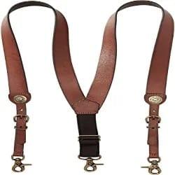 Best Groomsmen Gift Ideas - Men's Shot Shell Leather Suspender