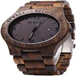 Best Groomsmen Gift Ideas - Mens Wooden Watch Analog Quartz