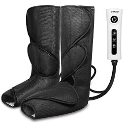 Best Retirement Gift Ideas for Men - Massager for Foot Calf with Portable Handheld Controller (1)