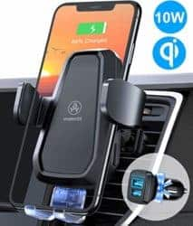Birthday Gifts for Dad - Wireless car charger mount