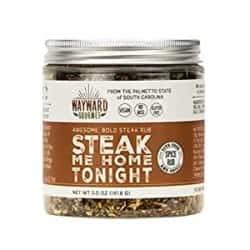 Cheap Birthday Gift Ideas - Steak Me Home Tonight - Dry Steak Rub by Wayward Gourmet