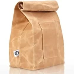 Cheap Funny Gift Ideas - Large Size Brown Paper Bag Styled, Canvass Lunch Bag