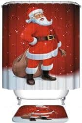 Cheap Gift Ideas - Polyester Christmas Shower Curtains