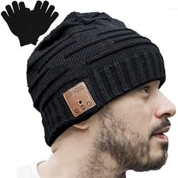 Cheap Gift for Men who have Everything - Bluetooth Beanie Winter Music Hat (1)