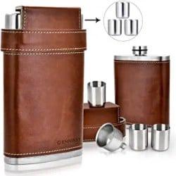 Cheap Groomsmen Gift Ideas - GENNISSY 18-8 Stainless Steel 8oz Flask