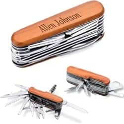 Cheap Manly Gift Ideas - Multi-Purpose Pocket Tool Knife